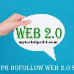 Best Free High PR Dofollow Web 2.0 Sites List 2017