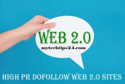Best Free High PR Dofollow Web 2.0 Sites List 2020
