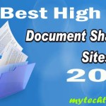 Best Document Sharing Sites List 2017 – High PR