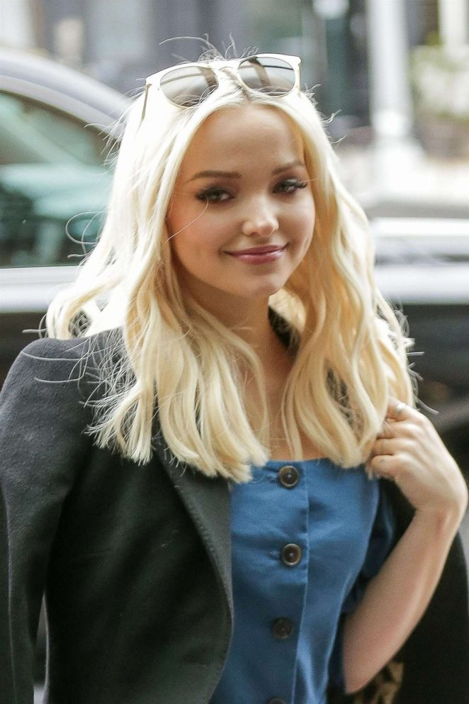 Dove Cameron – All smiles as she arrives the Bowery Hotel in New York City