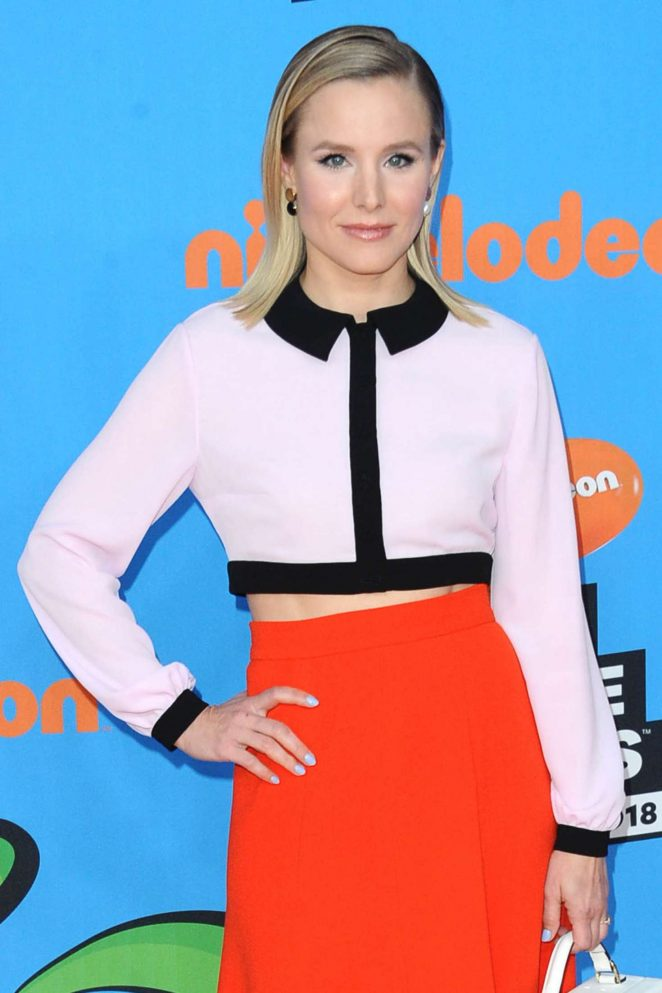 Kristen Bell – 2018 Nickelodeon Kids' Choice Awards in Los Angeles
