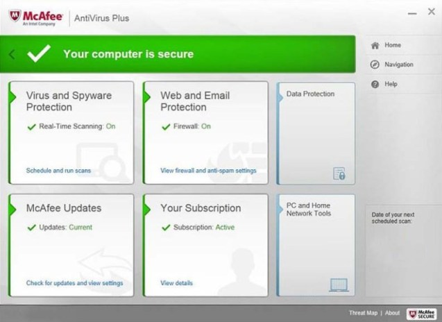 McAfee Antivirus Plus Activation Free for 6 Months Subscription