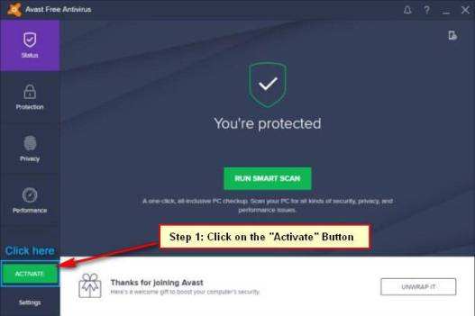 Avast Free Antivirus 2018 License Code