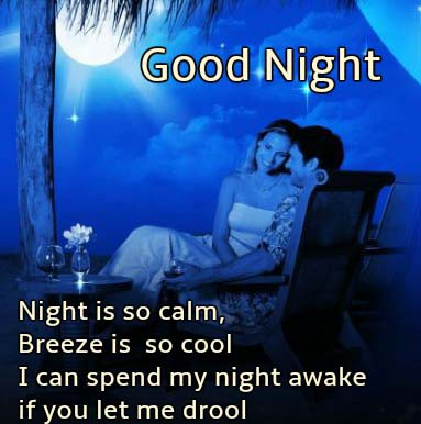 Romantic Good Night Message for her