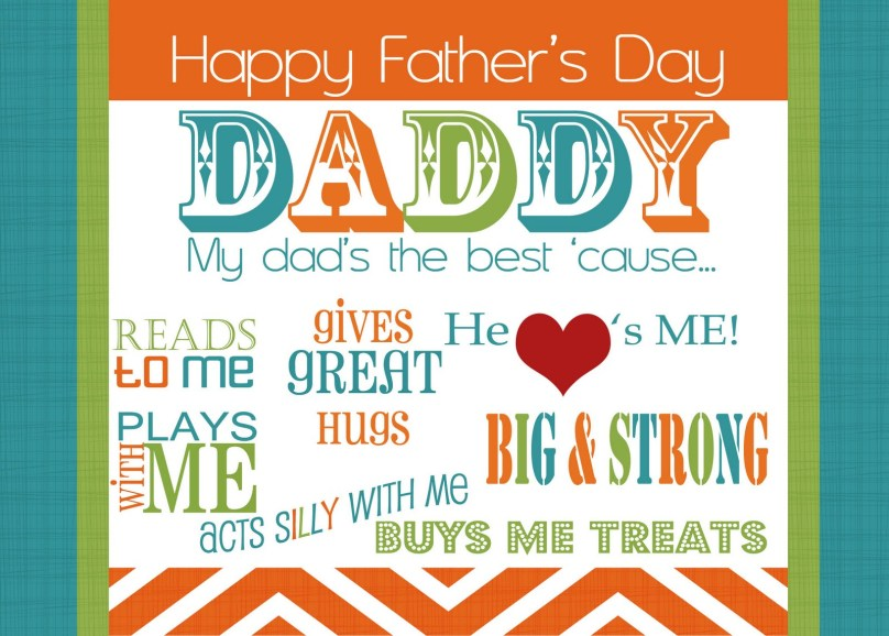 Happy Fathers Day Free Gifts Ideas