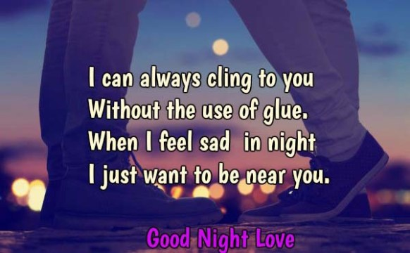 Good Night Love Wishes SMS