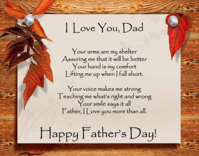 Happy Father's Day Poems for Whatsapp