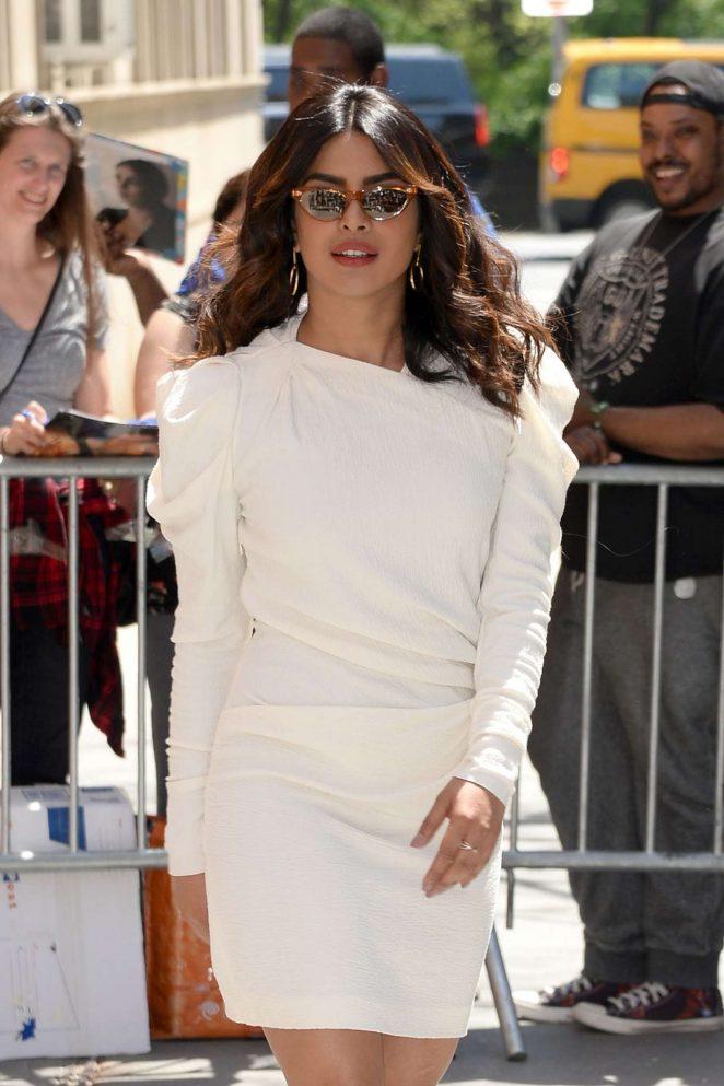 Priyanka Chopra – Arrives at 'The View' TV Show in New York