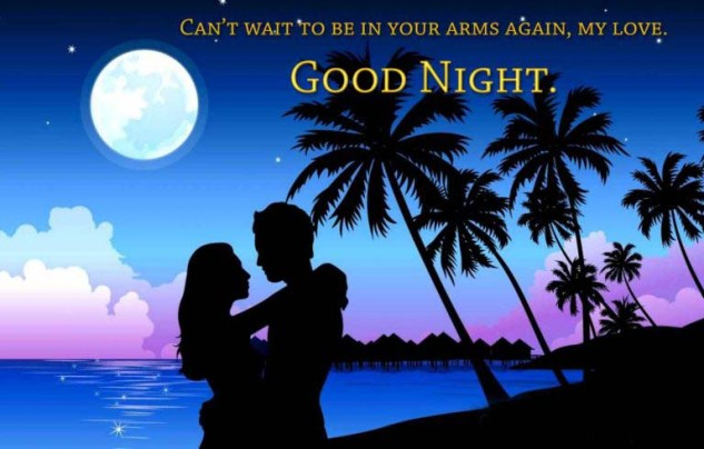 Romantic Good Night Message for her - Girlfriends
