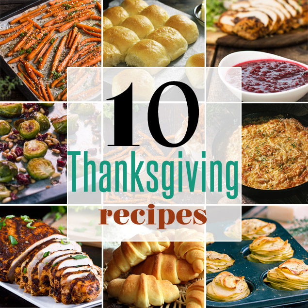 Happy Thanksgiving Day Dinner Recipes Ideas 2018 - Pictures, Images