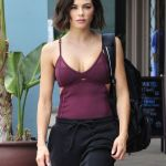 Jenna Dewan Street Style – Leaving a Workout Class in LA