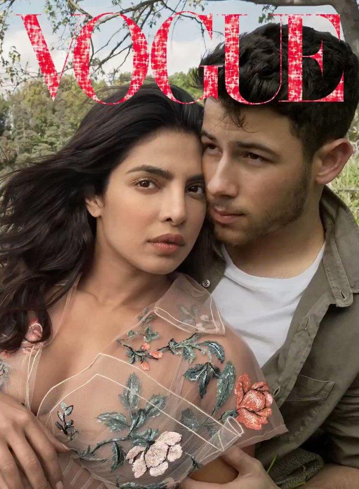 Priyanka Chopra and Nick Jonas - US Vogue January 2019