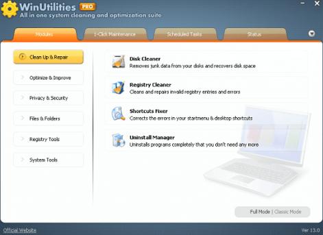 WinUtilities Pro 15 License Code 2021 Serial Free Download