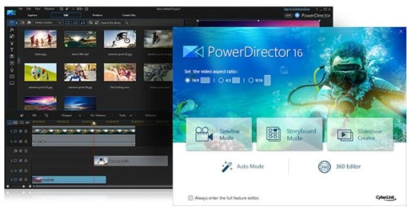 CyberLink PowerDirector 2019 License Key Serial Free Download