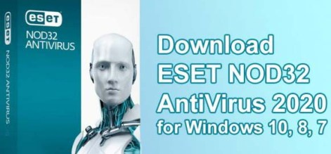 ESET NOD32 AntiVirus 2021 Free Download for Windows 10, 8, 7