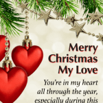 Merry Christmas Wishes Images For Girlfriend, Wife, Lovers