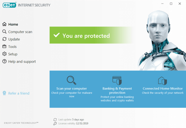 ESET Internet Security Username and Password Free Trial
