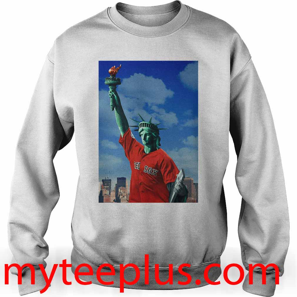 Red Sox Statue of liberty Sweater