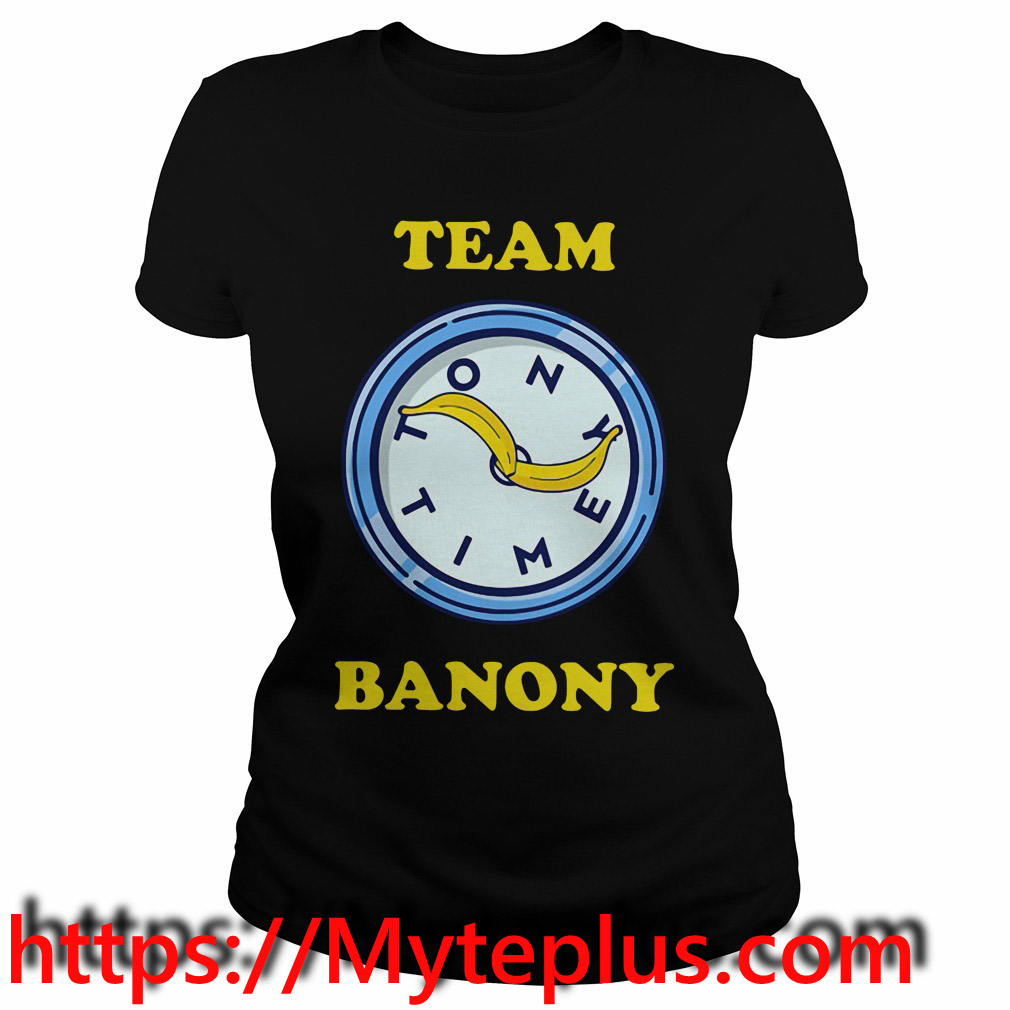 Team Banony Ladies tee