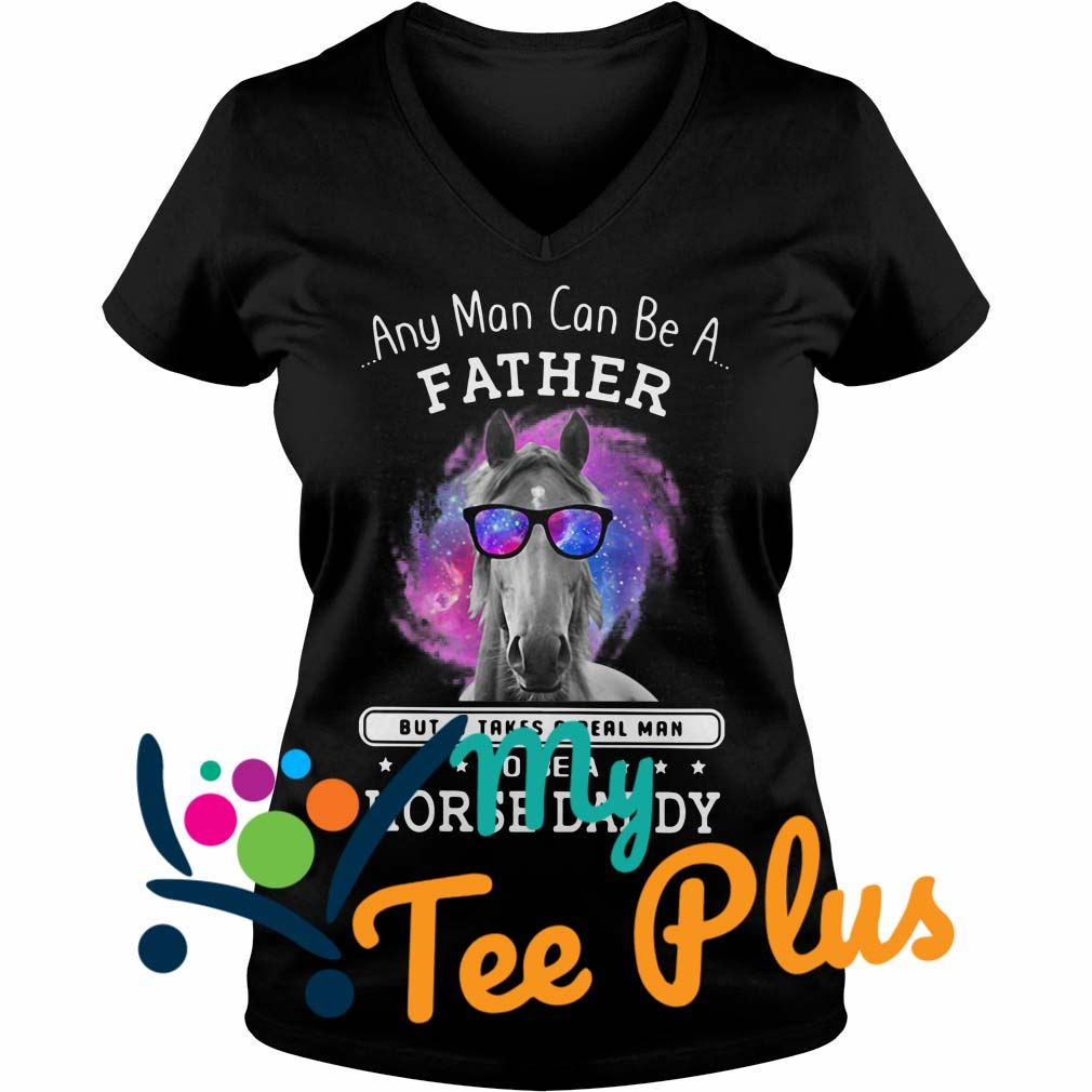 Any Man Can Be A Father V-neck