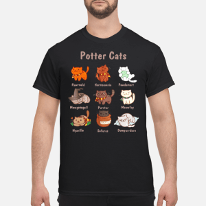 Potter Cats shirt