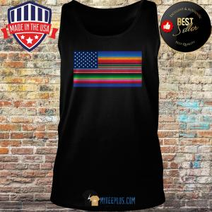 Del Mex Mexican Flag Stars and Stripes tank top