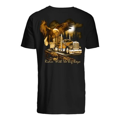HIPPING WORLDWIDE RIDIN WITH THE BIG BOYS TRUCK SHIRT