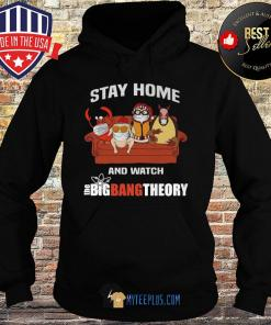 Penguin and Friends Stay At Home And Watch The Big Bang Theory s Hoodie