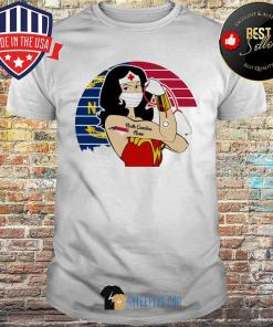 Wonder Woman Tattoos North Carolina Nurse Vintage Covid-19 shirt