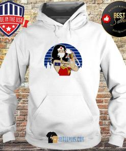 Wonder Woman Tattoos Pennsylvania Nurse Vintage Covid-19 s Hoodie