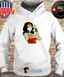 Wonder Woman Tattoos Teacher Covid-19 s Hoodie