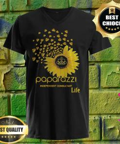 Best Sunflower Paparazzi Independent Consultant Life v neck