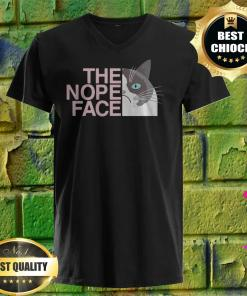 Official The Nope Face v neck