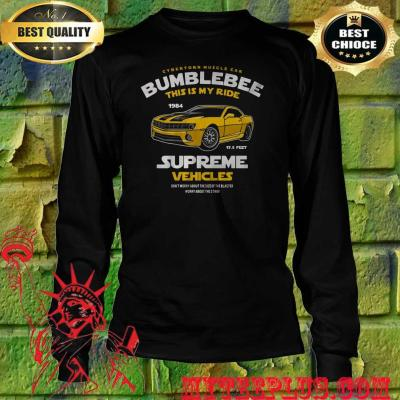 Bumblebee This Is My Ride Womens Transformers men's long