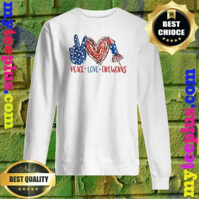 Official Peace Love Fireworks Sweatshirt