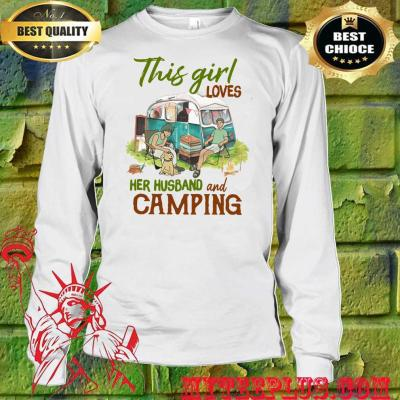 This Girl Loves Her Husband and Camping men's long