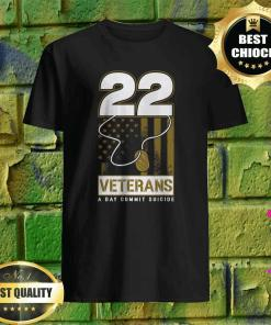 22 Dog Tag Veteran Suicide Awareness T-Shirt