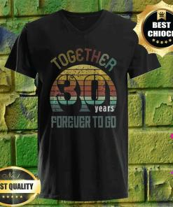30 years wedding anniversary gifts for matching couples 30 v neck