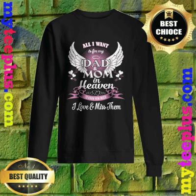 All I want is for my Grandfather in heaven sweatshirt