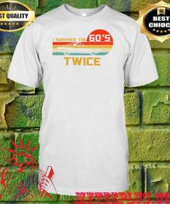 I Survived The 60s. Twice! Slim Fit T-Shirt