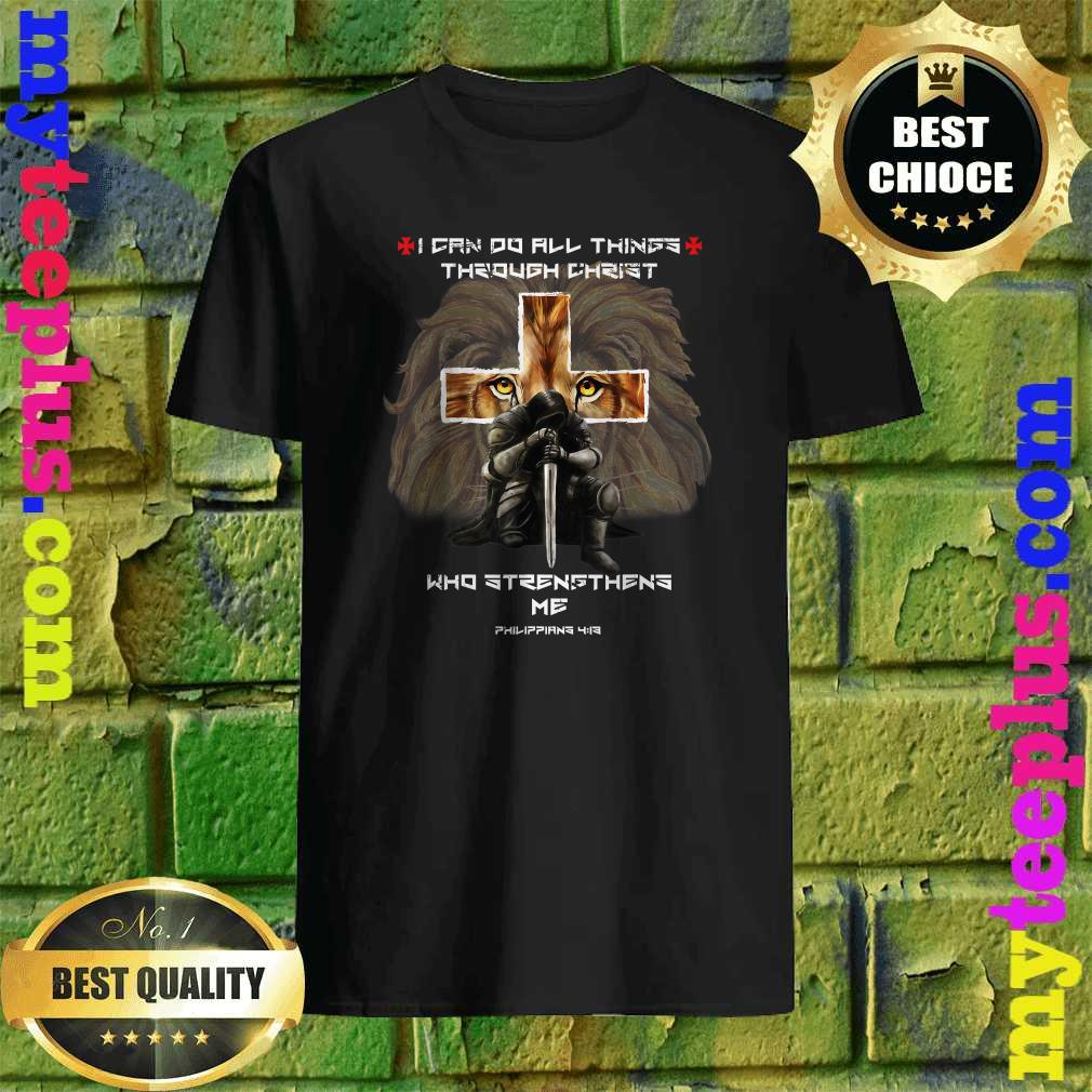 Vintage I Can Do All Things Through Christ Who Strengthens Me Philippians 4-13 shirt