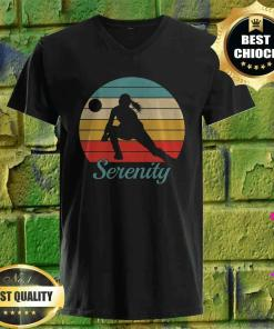 Serenity Personalized Volleyball v neck