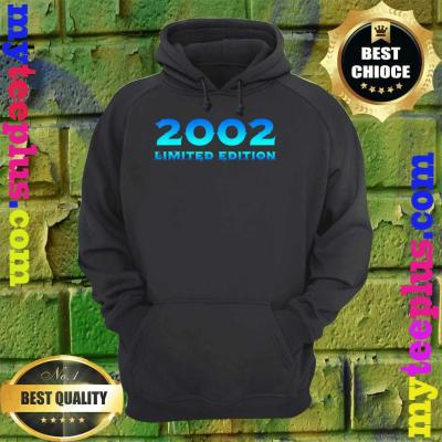 2002 Limited Edition 18th Birthday Party hoodie