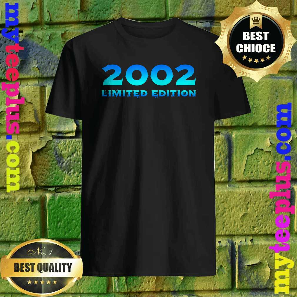 2002 Limited Edition 18th Birthday Party Shirt
