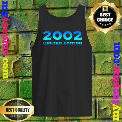 2002 Limited Edition 18th Birthday Party tank top