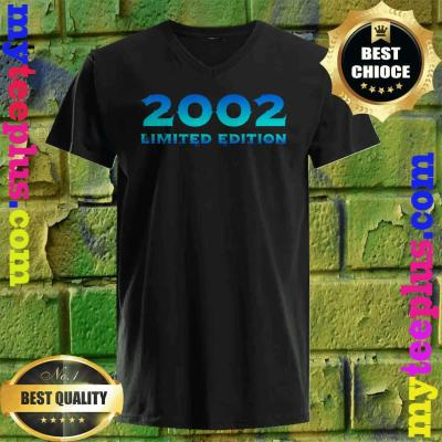 2002 Limited Edition 18th Birthday Party v neck