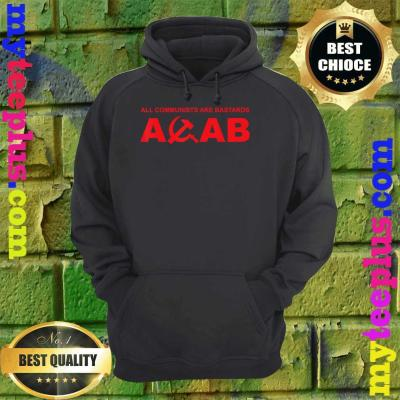 ACAB-All communists are bastards hoodie