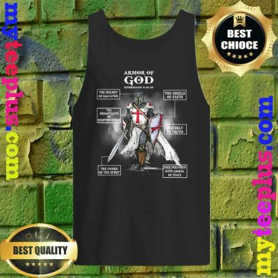 Armor Of God Bible Verse Cool Gift For Religious Christian Tank top