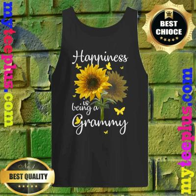 Happiness Is Being A Grammy Sunflower Gift Tank top