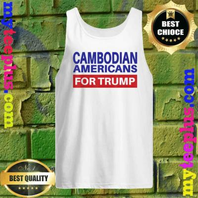 Cambodian Americans For Trump - Election 2020 Republican Tank top
